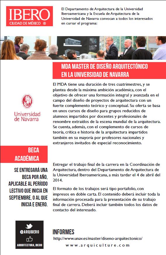 2014_ BLOG MDANAVARRA_ FUTUROS ALUMNOS_ CONVOCATORIA BECA IBERO