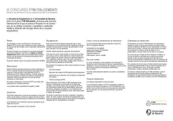 2014_ BLOG MDANAVARRA_ FUTUROS ALUMNOS_ CONVOCATORIA BECA  ITALCEMENTI 2