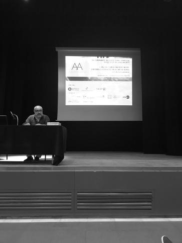 Joan Ruig, en su conferencia de cierre del seminario.